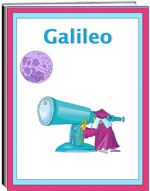 Thematic Unit - Galileo - Children will enjoy this informative unit on the life and accomplishments of Galileo. It shares his early life, education, and his discoveries. The unit includes worksheets for the students: spelling, criss cross, word find, word unscramble, and more.