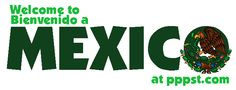 Welcome to Mexico! - Overviews FREE Presentations in PowerPoint format, Free Interactives and Games Free Powerpoint Presentations, Powerpoint Format, Interactive Learning, Central America, Welcome, Spanish, Power Points, Stay Calm, Teaching