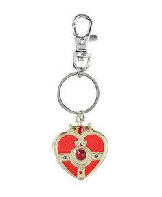 """Cosmic Heart Keychain 