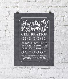 FF Swanky Press Kentucky Derby
