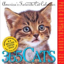 365 Cats Page-a-Day 2012 Calendar (Page a Day Calendar)  By Workman Publishing