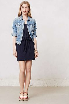 Anthropologie - Trissie Tie Dress