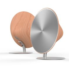 Retro Smooth Wood Sexy Compact Wireless Speaker System Bluetooth NFC Function For Cellphone Great design aesthetic, sexy curves. The most compact speaker from SOLO One easily goes where you go Touch k