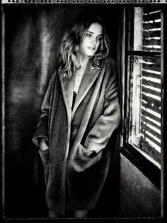 Natalia Vodianova by Paolo Roversi - Aspesi F/W 14.