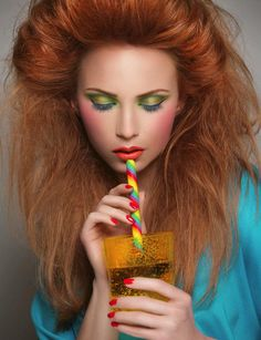 Candy World Candy World vs. Exotic Makeup Use colors that express playfulness from childhood.