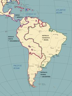 The South American Continent in the Year 1928 by ~SPARTAN-127 on deviantART
