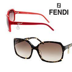 Fendi Women's Timeless Fashion Sunglasses - Havana or Red $20.99