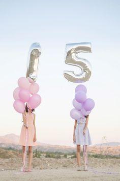 Quinceanera Ideas Photo Ideas Birthday Photos Photoshoot Balloons