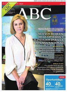 La portada de ABC del sábado 6 de enero