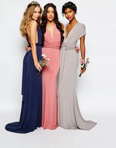 TFNC | TFNC WEDDING Multiway Fishtail Maxi Dress at ASOS