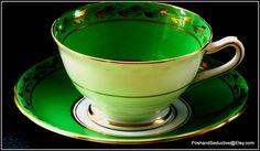 Finest example of Balmoral bone china by PoshandSeductive on Etsy
