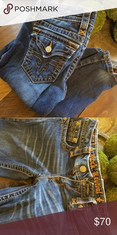 Rock revival jeans Bought brand new, never worn they are too small. Size 28 $70 obo Rock Revival Jeans Skinny