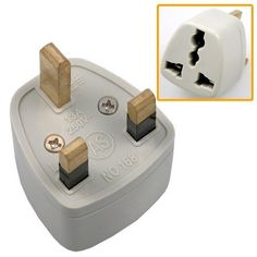 US to UK plug. You will need this in London!