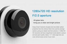 Brand Xiaomi camera Mi IP camera wifi wireless Xiaoyi HD 720P micro mini camera Yi CCTV Ant home video security surveillance cam 12