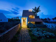 Ngôi nhà nhỏ 120m2 với thiết kế lạ mắt nằm tại vùng cao nguyên Di Linh (Lâm Đồng).