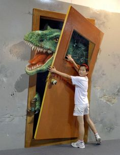 3D Paintings. Will be fun to see at the museum.
