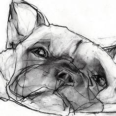 Valerie Davide Dogs - Trowbridge Gallery
