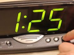 Alarm Clock Sound Hack- change the sound and possibly the volume of your alarm clock.