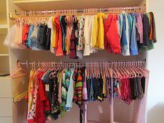 M's closet- AFTER