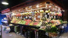 La Boquería market, Barcelona