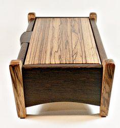 Decorative Boxes : taper leg wood box -Read More –