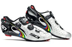 Buy Sidi Wire Vernice Limited Edition Tony Martin Shoe from Price Match, Home delivery + Click & Collect from stores nationwide. Road Bike Gear, Road Bike Shoes, Fixed Gear Bike, Road Bikes, Cycling Wear, Bike Wear, Cycling Outfit, Cycling Clothes, Sidi Cycling Shoes