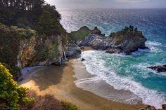 tropical beach waterfall Google Search pirates hideout