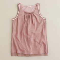girls' recital tank: I could make, and then not pay j.crew price for this. ;P