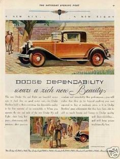 Dodge Brothers Car Color (1931)