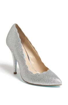 Betsey Johnson 'Altar' Pump | Nordstrom I just love glittery, shimmery, sparkly things!