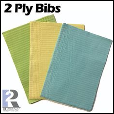 Online shopping for Patient Bibs 2 Ply (Box of 500) at just $ 14.95 only from http://r2medical.com/products/bibs-2-ply