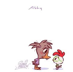 David Gilson Disney Chibi Abby & Chicken Little