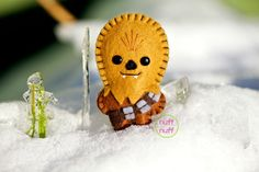 Felt Chewbacca  Pocket Plush toy by nuffnufftoys on Etsy, $15.00