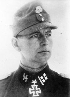 Otto Kumm, seen here wearing the uniform of an SS-Obersturmbannführer. Kumm was the third commander of the Prinz Eugen Division, the first two being Artur Phleps and Carl von Oberkamp. Kumm is best...