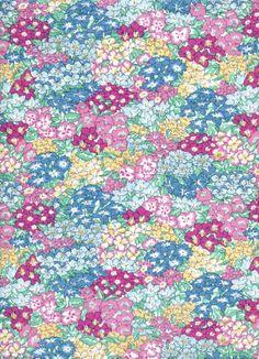 Liberty - Garden Wonderland Liberty Fabric, Liberty Print, Textiles, Patchwork Fabric, Liberty Of London, Pretty Patterns, Cute Wallpapers, Fabric Crafts, City Photo