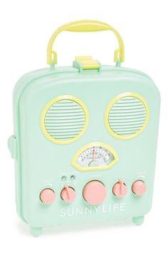 Sunny Life | portable beach radio #product_design