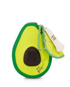 Avocado Wristlet Bag
