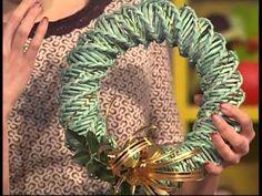 Плетем новогодние игрушки из бумажной лозы! 1 часть! Запись трансляции! 16.11 - YouTube