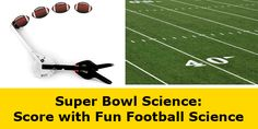"""Football Science: Score Big this Super Bowl Sunday with Sports Science"": In the days leading up to the big game, in the days after, or even during off-season, you can kick around sports #science concepts with your students. [Source: Science Buddies, http://www.sciencebuddies.org/blog/2015/01/football-science-score-big-this-super-bowl-sunday-with-sports-science.php?from=Pinterest] #STEM #football #superbowl"