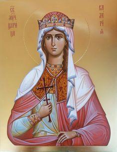 Byzantine Icons, Byzantine Art, Religious Icons, Orthodox Icons, Roman Catholic, Anastasia, Saints, Princess Zelda, Christian