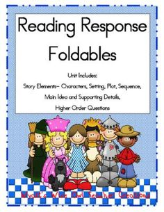 Reading Response Foldables from Mrs. Wyatt's Wise Owl Teacher Creations on TeachersNotebook.com -  (15 pages)