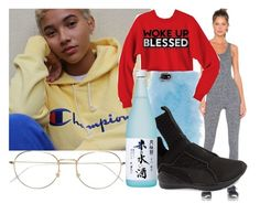 """""""Untitled #798"""" by bvby-gvl ❤ liked on Polyvore featuring Skinnydip, Puma and RetroSuperFuture"""