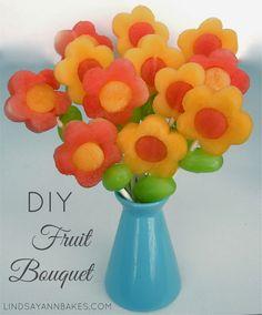 Flower Fruit Pops