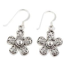 Silver Daisy Flower Earrings by Charlotte's Web Flower Earrings, Drop Earrings, Charlottes Web, Jewellery Sale, Jewelry, Daisy, Floral, Flowers, Silver