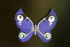 Butterfly Eyes magnet #2 by boneislandart for $28.00