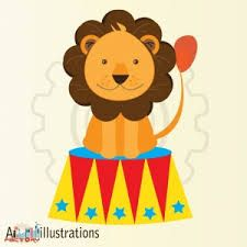 cartoon circus lion - Google Search