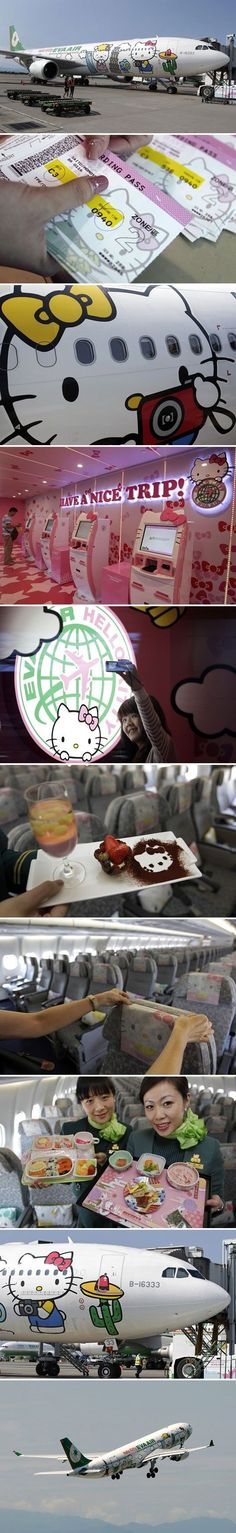 Hello Kitty airline.