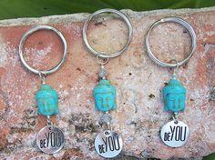 Buddha Be You Keychain