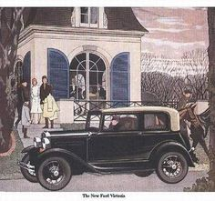 1931 Model A Ford Ad