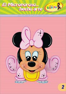 Mickey E Minnie Mouse, Disney Cards, Mini Mouse, Paper Piecing Patterns, Mickey And Friends, Baby Disney, Scrapbook Paper, Applique, Arts And Crafts